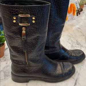Tory Burch calf length boots